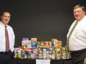 Food drive for Harvest Hands Harlan Law Donations